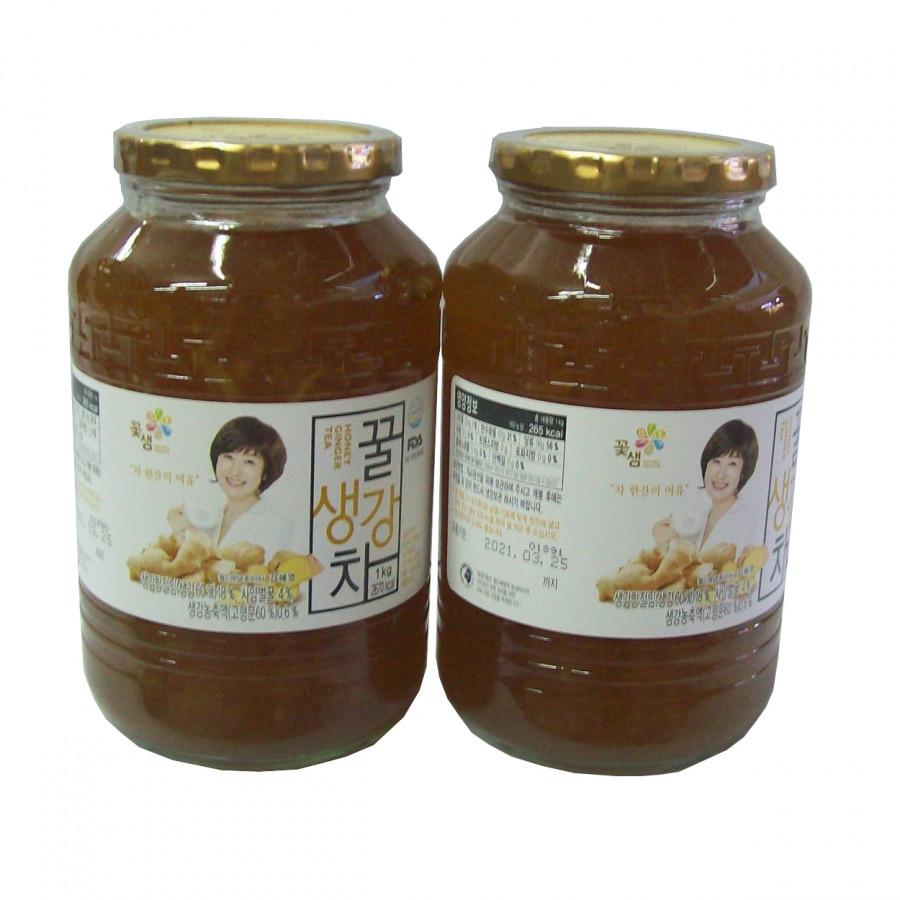 Combo 2 hũ Trà gừng mật ong Kkoh Shaem Food Hàn Quốc 1kg - 7429750 , 6539688080256 , 62_15835240 , 560000 , Combo-2-hu-Tra-gung-mat-ong-Kkoh-Shaem-Food-Han-Quoc-1kg-62_15835240 , tiki.vn , Combo 2 hũ Trà gừng mật ong Kkoh Shaem Food Hàn Quốc 1kg