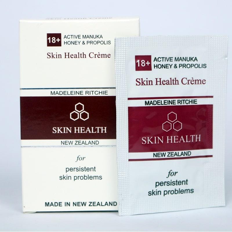 Kem giảm viêm da, kích ứng, dị ứng mỹ phẩm Madeleine Ritchie 18+ Active Manuka Honey  Propolis Skin Creme 3ml - 1606194 , 6550693941769 , 62_10826243 , 70000 , Kem-giam-viem-da-kich-ung-di-ung-my-pham-Madeleine-Ritchie-18-Active-Manuka-Honey-Propolis-Skin-Creme-3ml-62_10826243 , tiki.vn , Kem giảm viêm da, kích ứng, dị ứng mỹ phẩm Madeleine Ritchie 18+ Active