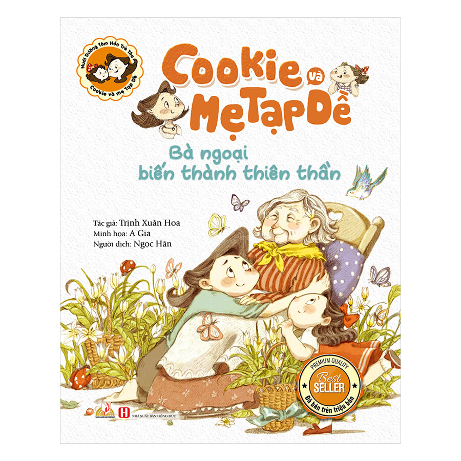 Cookie Và Mẹ Tạp Dề - Bà Ngoại Biến Thành Thiên Thần