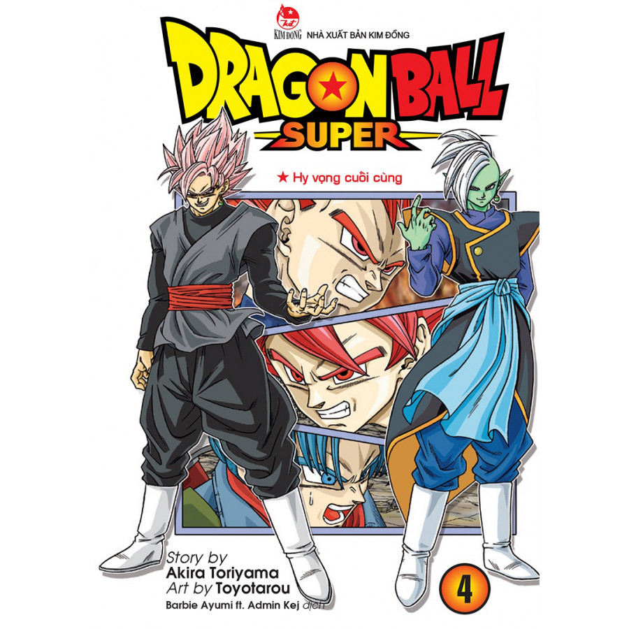 Dragon Ball Super -  Tập 4 - 1560601 , 8935244813227 , 62_10131711 , 22000 , Dragon-Ball-Super-Tap-4-62_10131711 , tiki.vn , Dragon Ball Super -  Tập 4