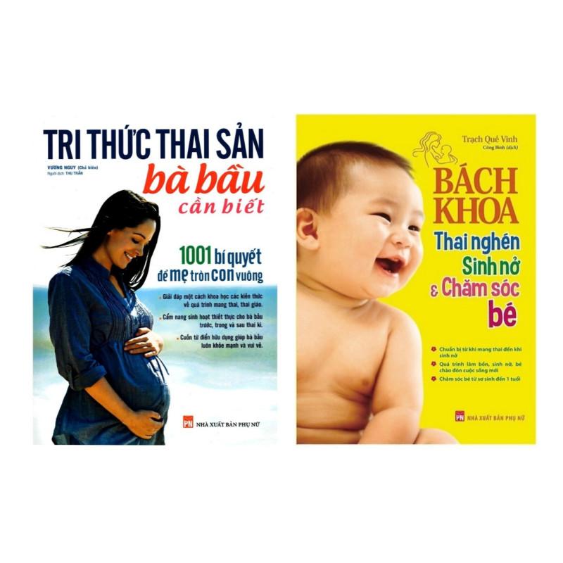 Combo Sách Mang Thai Dành Cho Bà Bầu: Tri Thức Thai Sản Bà Bầu Cần Biết + Bách Khoa Thai Nghén - Sinh Nở Và Chăm Sóc Em...