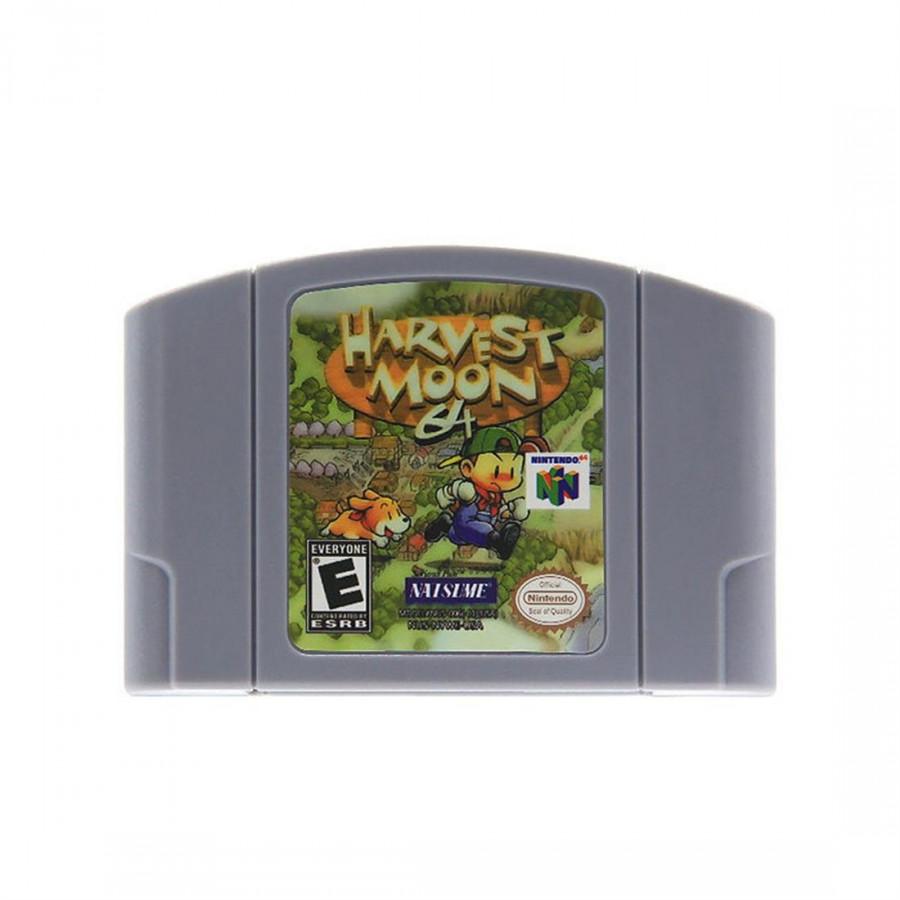 Băng Chơi Game Mario Cho Nintendo 64 N64 (Harvest Moon) - Phiên Bản US