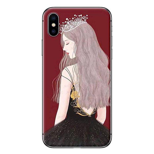 Ốp lưng dành cho điện thoại iPhone XR - X/XS - XS MAX - Nữ hoàng