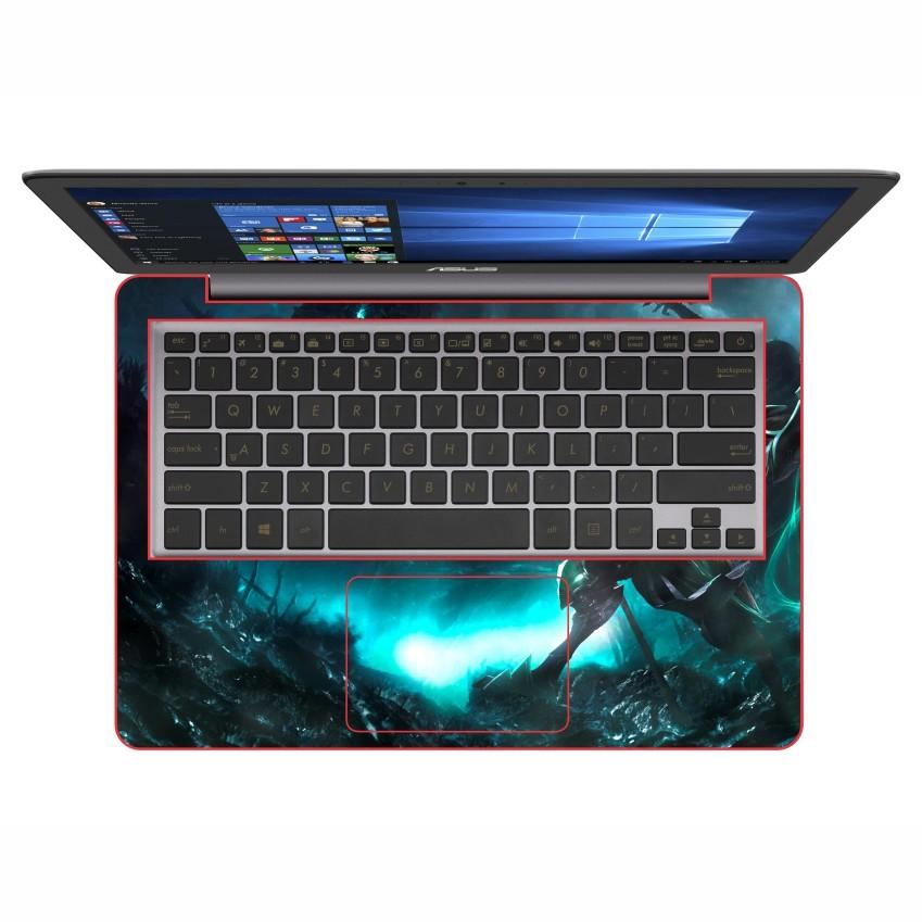 Mẫu Dán Decal Laptop Cinema - DCLTPR 012