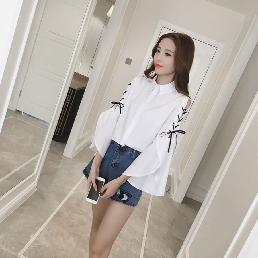 Long Sleeves Shirt Woman