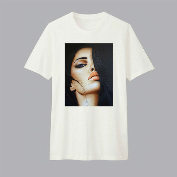 Áo T-shirt Trẻ Em Hair Dotilo HU007 - Trắng