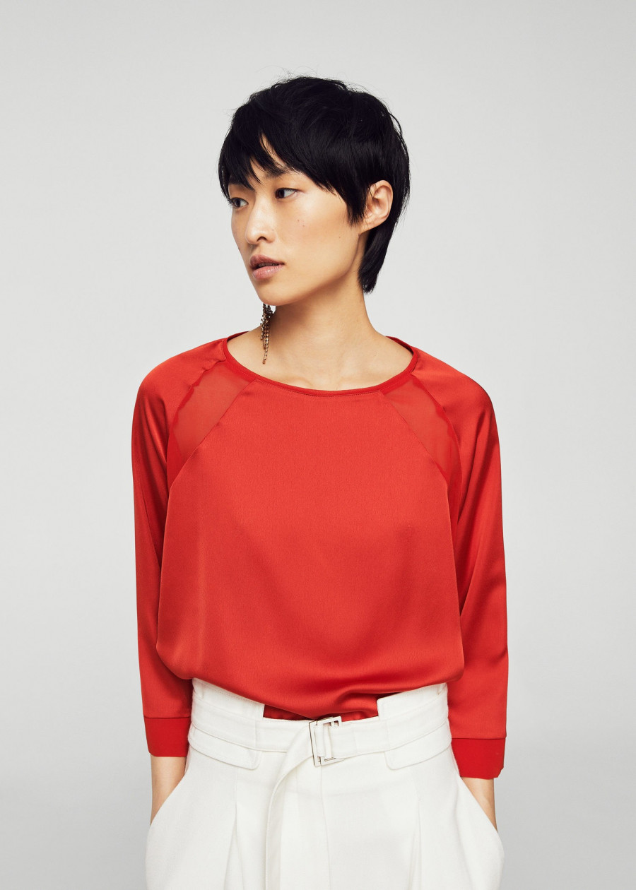 Áo Thun Nữ T-shirt Chembi Mango 21020646