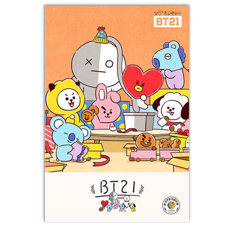 Tập vở học sinh BT21 BTS