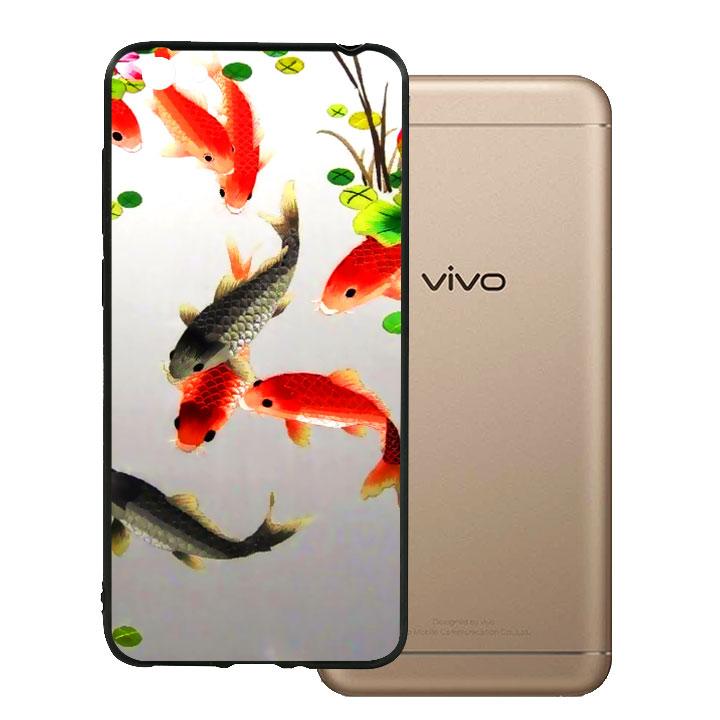 Ốp lưng viền TPU cho Vivo Y55 - Fishes 03