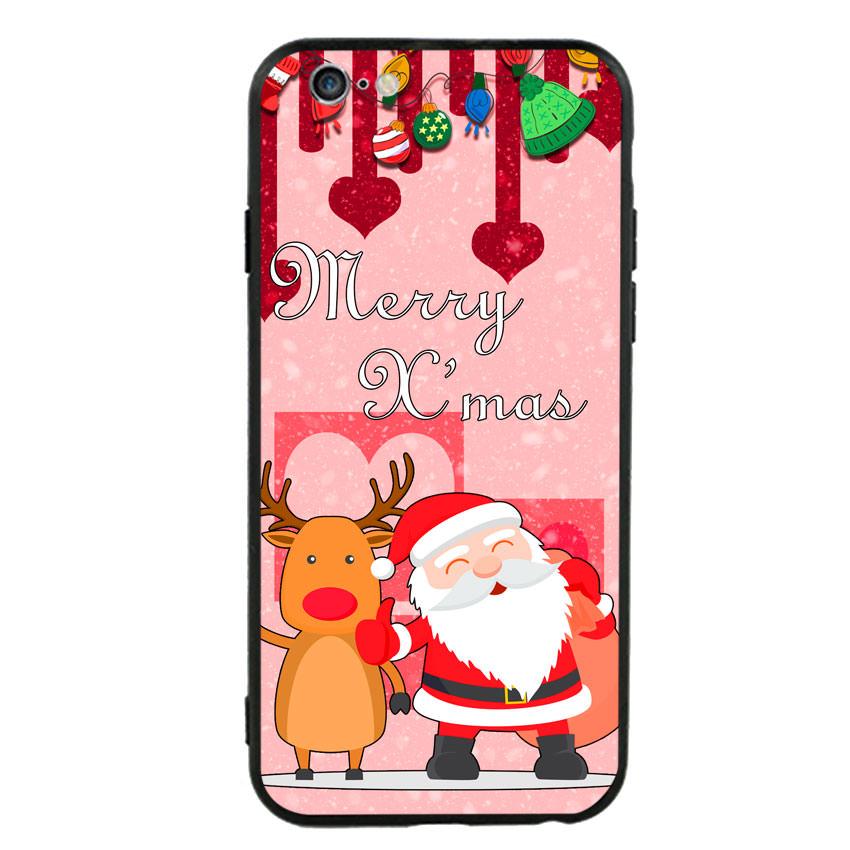 Ốp lưng viền TPU cho điện thoại Iphone 6 Plus/6s Plus - Xmas 04