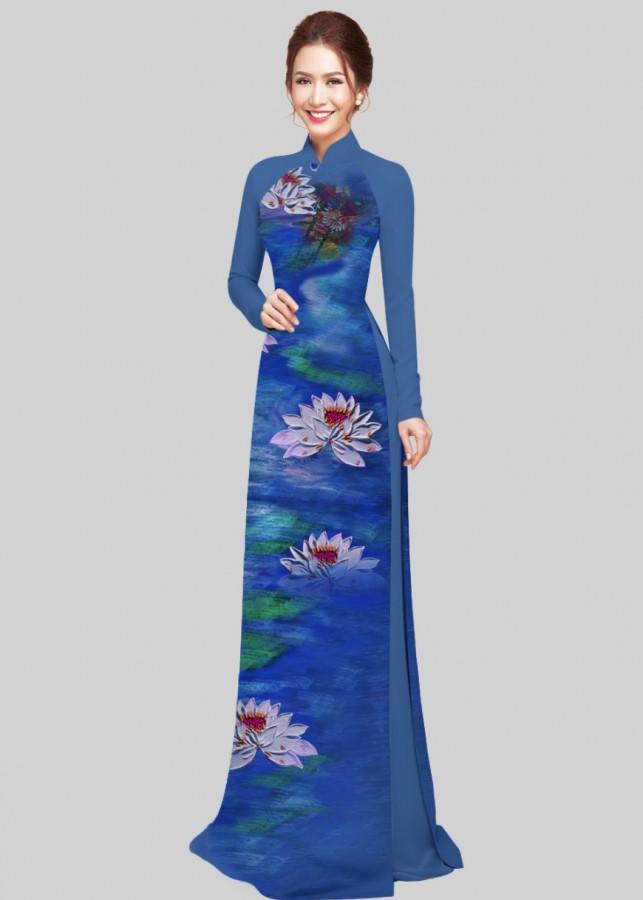Vải áo dài in 3d hoa sen Xuân Hằng - 2264728 , 5637859674318 , 62_14520170 , 500000 , Vai-ao-dai-in-3d-hoa-sen-Xuan-Hang-62_14520170 , tiki.vn , Vải áo dài in 3d hoa sen Xuân Hằng