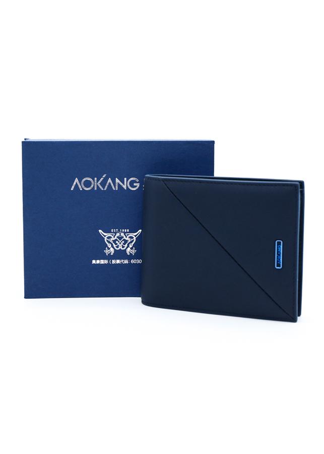 Ví Ngang Nam Aokang 8813708039 - Xanh
