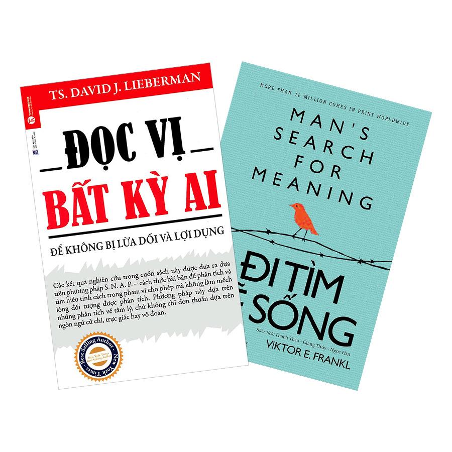 Combo Đọc Vị Bất Kỳ Ai + Đi Tìm Lẽ Sống (2 cuốn)