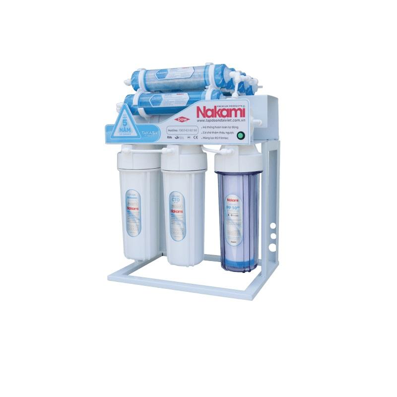 Máy lọc nước RO không vỏ tủ Nakami NKW-34008D - Hàng Chính Hãng