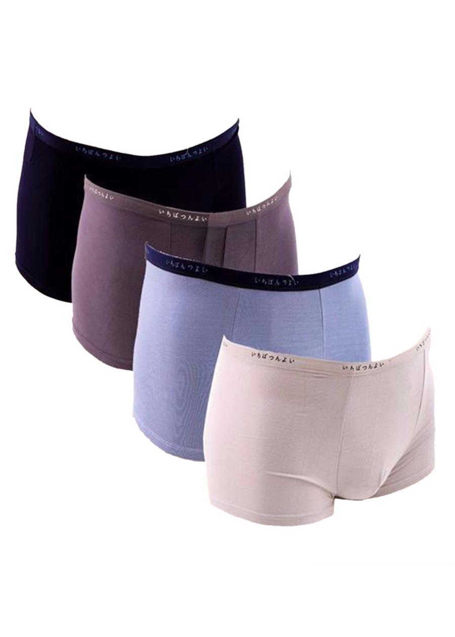 Combo 4 Quần lót nam, sịp đùi nam xuất Nhật thời trang cao cấp - ZQN07 (Màu ngẫu nhiên)
