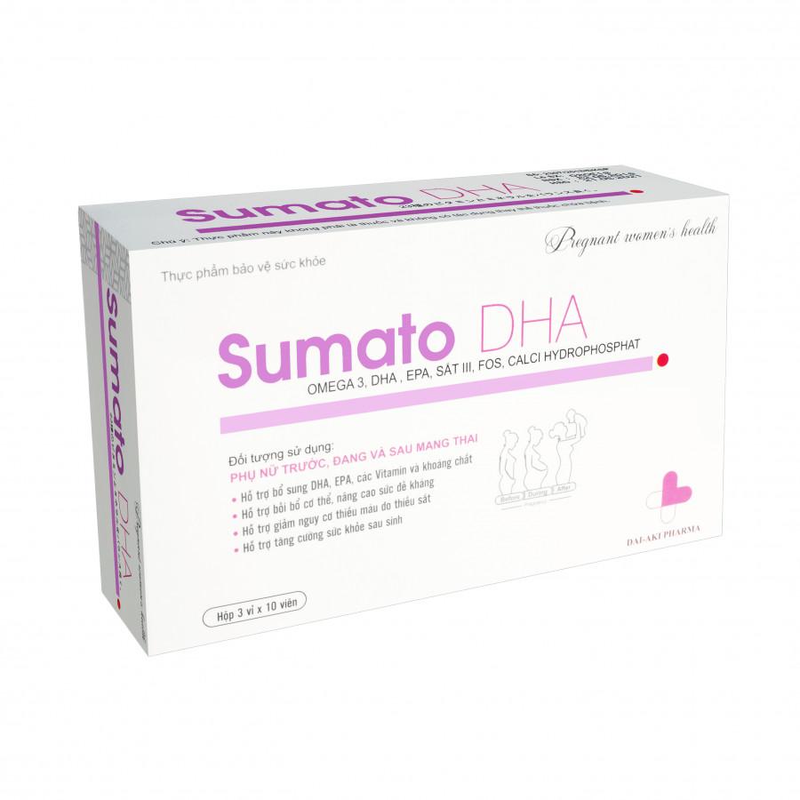 Thực phẩm chức năng bổ sung vitamin dành cho bà bầu Sumato DHA
