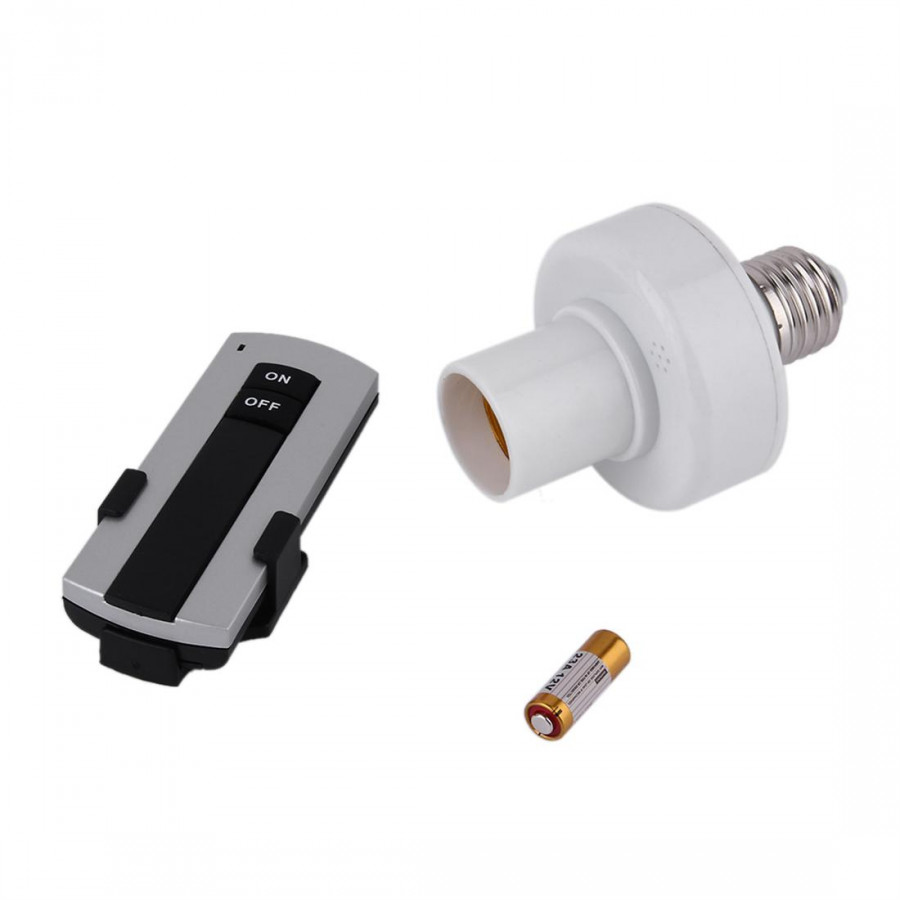 Wireless 220V Remote Control Lamp Holder