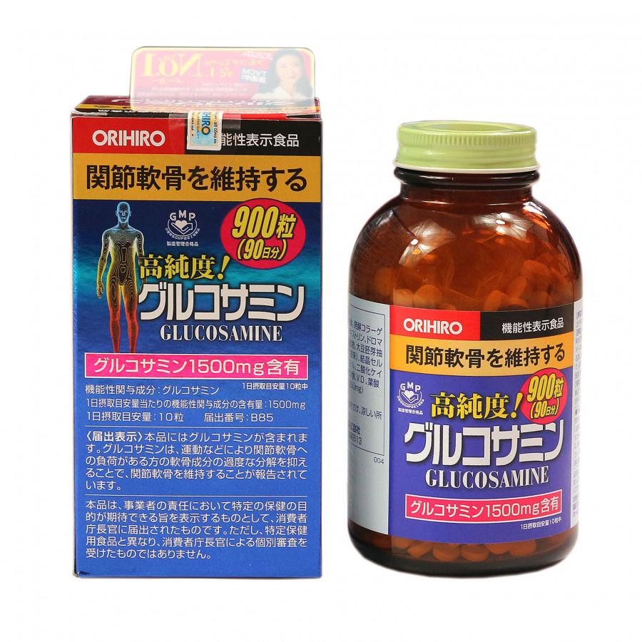 Viên uống Glucosamin Orihiro Nhật Bản (ORIHIRO Hight Pure Glucosamine Tablets) - 18371663 , 4005698549240 , 62_26186556 , 806000 , Vien-uong-Glucosamin-Orihiro-Nhat-Ban-ORIHIRO-Hight-Pure-Glucosamine-Tablets-62_26186556 , tiki.vn , Viên uống Glucosamin Orihiro Nhật Bản (ORIHIRO Hight Pure Glucosamine Tablets)
