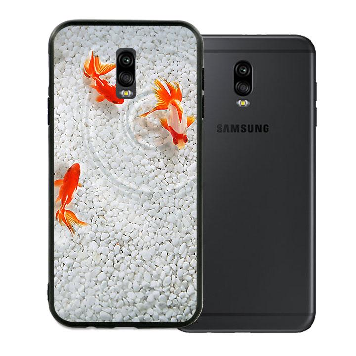 Ốp lưng viền TPU cao cấp dành cho Samsung Galaxy J7 Pro - Cá Koi 02