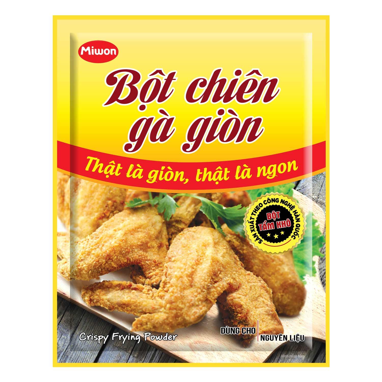 Bột Chiên Gà Giòn Miwon (35g) - 867161 , 8935036251244 , 62_276616 , 5000 , Bot-Chien-Ga-Gion-Miwon-35g-62_276616 , tiki.vn , Bột Chiên Gà Giòn Miwon (35g)