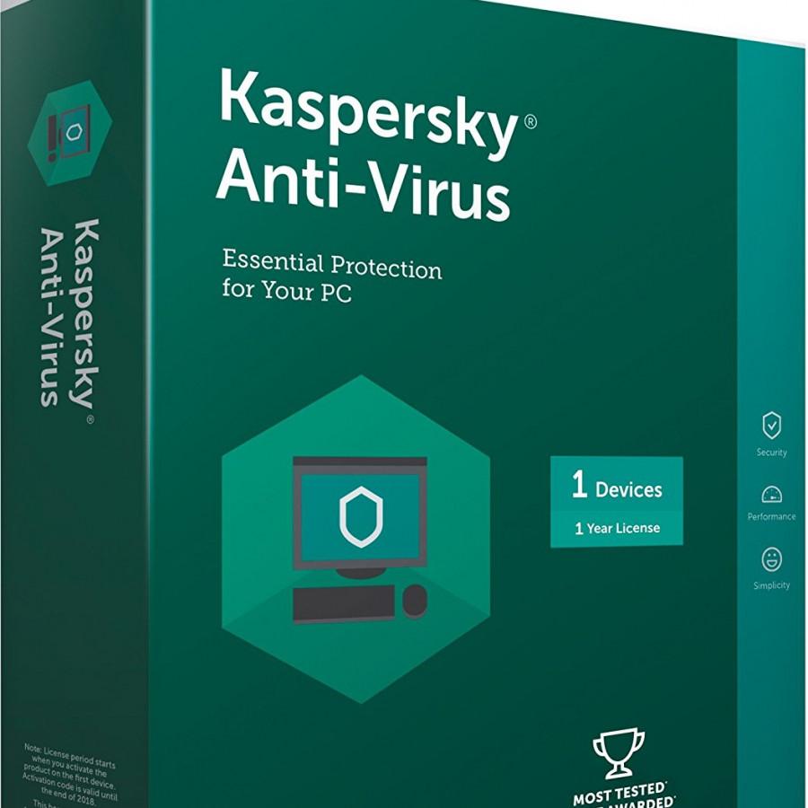 Kaspersky antivirus 1pc/1 năm