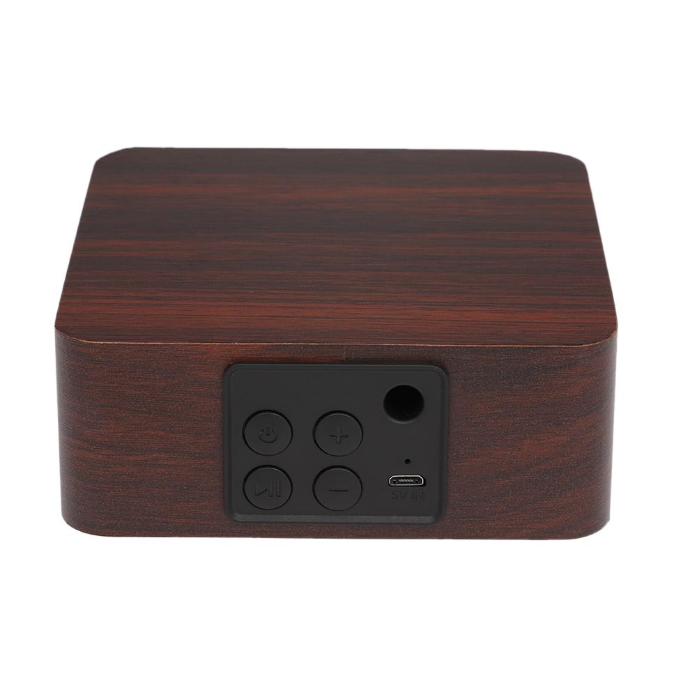 Loa Gỗ Siêu Trầm Bluetooth Di Dộng Không Dây Q1A Cho iPhone