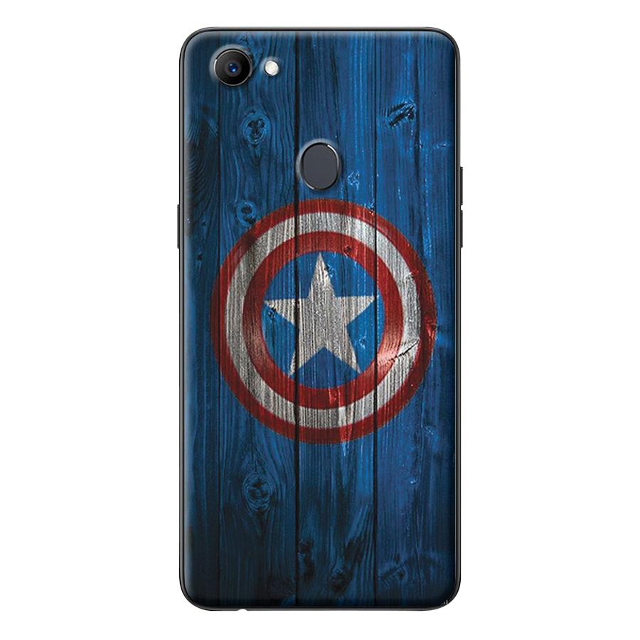 Ốp Lưng Dành Cho Oppo F7 - Captain America