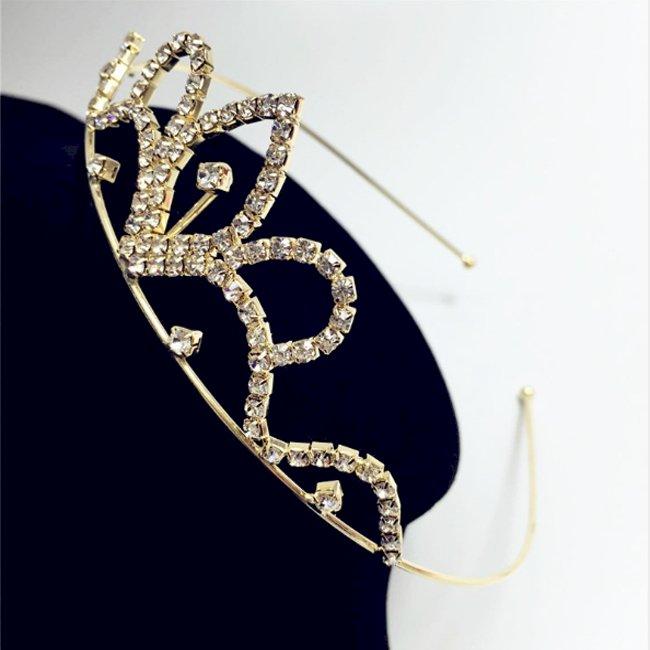 Bờm vương miện đính đá VM46