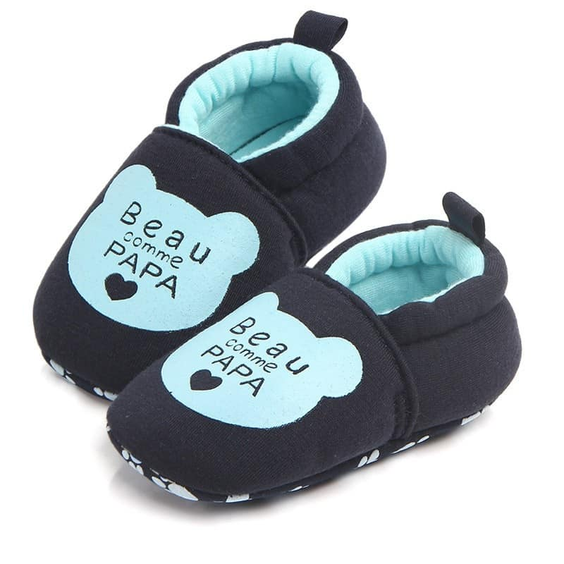 Giày vải in hình cho bé chống trượt
