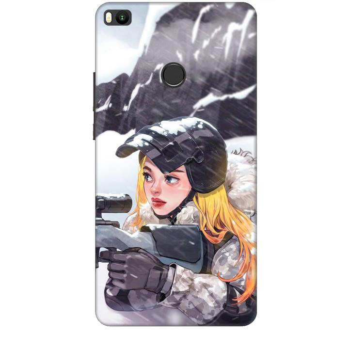 Ốp lưng dành cho điện thoại XIAOMI MI MAX 2 hình PUBG Mẫu 11