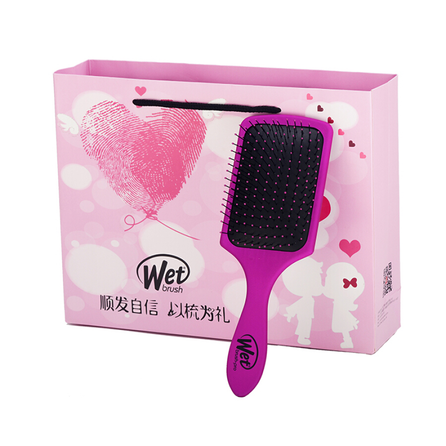 Witt Magic Comb Wetbrush Wide Edition with Hole Quick Dry Massage Shun Fat Dry and Wet Comb ABS Resin 5621 Pretty Purple - 1585492 , 9167746369301 , 62_10480214 , 407000 , Witt-Magic-Comb-Wetbrush-Wide-Edition-with-Hole-Quick-Dry-Massage-Shun-Fat-Dry-and-Wet-Comb-ABS-Resin-5621-Pretty-Purple-62_10480214 , tiki.vn , Witt Magic Comb Wetbrush Wide Edition with Hole Quick Dr