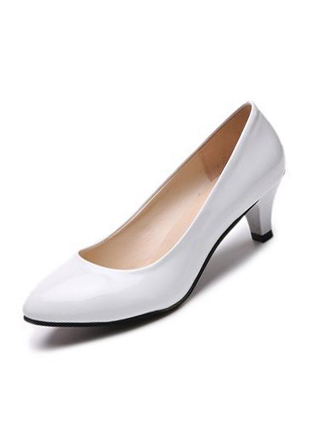 Giày gót thấp nữ đáng yêu 169 - 5278025 , 4495788332867 , 62_11413503 , 350000 , Giay-got-thap-nu-dang-yeu-169-62_11413503 , tiki.vn , Giày gót thấp nữ đáng yêu 169