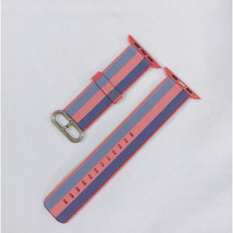 Dây đeo cho đồng hồ Apple Watch Woven Nylon màu hồng xanh - 38/40mm - 9610643 , 1805377365214 , 62_19401699 , 450000 , Day-deo-cho-dong-ho-Apple-Watch-Woven-Nylon-mau-hong-xanh-38-40mm-62_19401699 , tiki.vn , Dây đeo cho đồng hồ Apple Watch Woven Nylon màu hồng xanh - 38/40mm