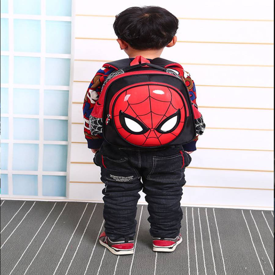 Balo học sinh - Balo trẻ em hình nhện