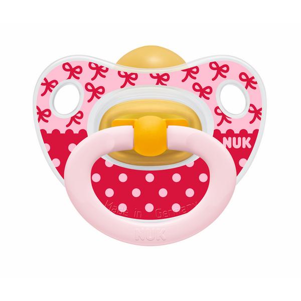 Bộ 2 Ti Giả Cao Su Classic Nuk NU01477 (6-18 tháng) - Màu Ngẫu Nhiên