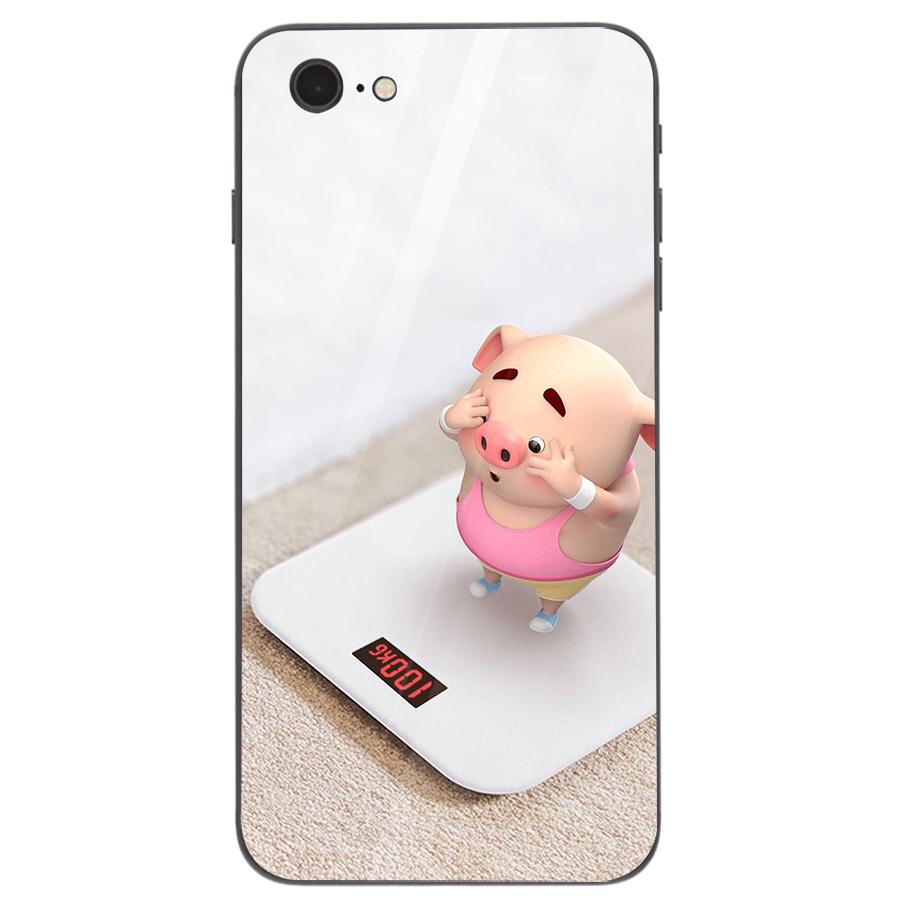 Ốp kính cường lực dành cho điện thoại iPhone 7/8 - heo hồng - hh074 - 1739261 , 5373045324505 , 62_13626546 , 206000 , Op-kinh-cuong-luc-danh-cho-dien-thoai-iPhone-7-8-heo-hong-hh074-62_13626546 , tiki.vn , Ốp kính cường lực dành cho điện thoại iPhone 7/8 - heo hồng - hh074