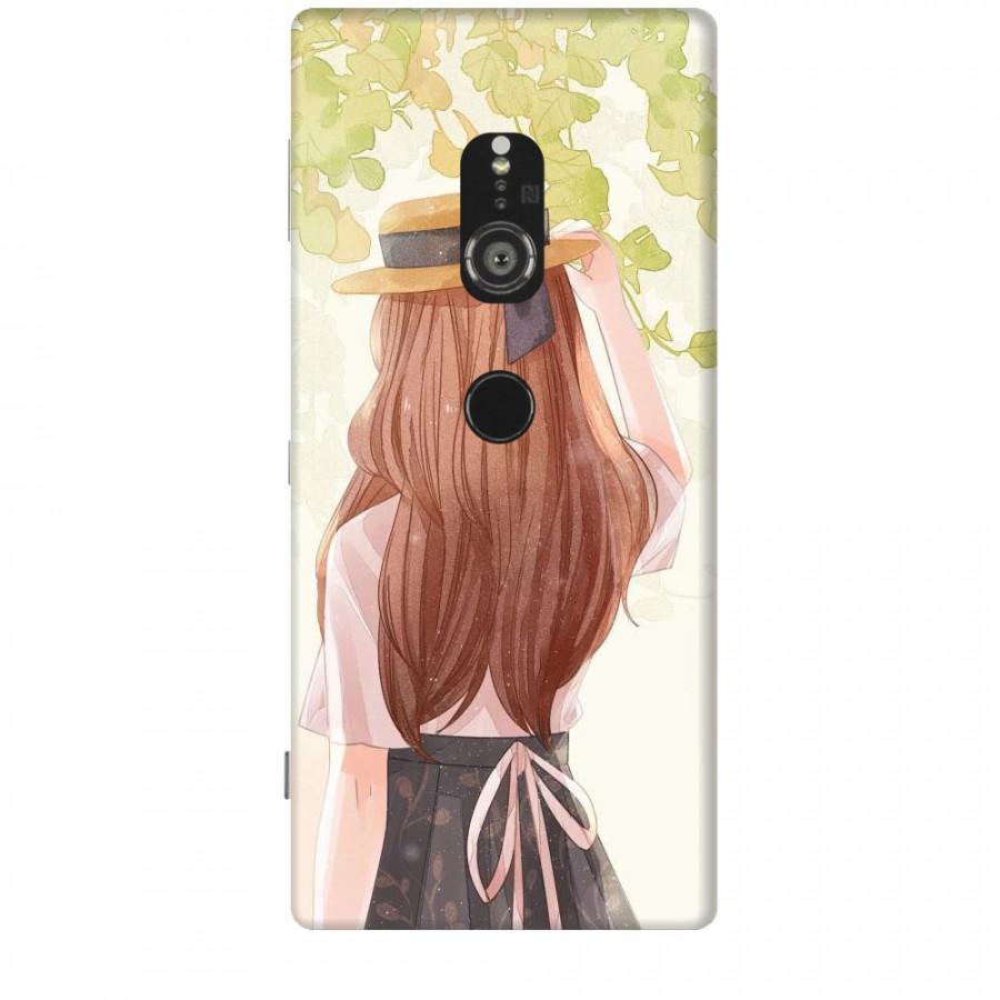Ốp lưng dành cho điện thoại SONY XZ2 Phía Sau Một Cô Gái