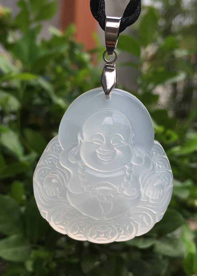 Mặt dây chuyền Phật Di Lặc cho Tuổi Sửu Mệnh Thủy đá Mã Não trắng AKO1 - 18668783 , 7140296532021 , 62_24033999 , 720000 , Mat-day-chuyen-Phat-Di-Lac-cho-Tuoi-Suu-Menh-Thuy-da-Ma-Nao-trang-AKO1-62_24033999 , tiki.vn , Mặt dây chuyền Phật Di Lặc cho Tuổi Sửu Mệnh Thủy đá Mã Não trắng AKO1