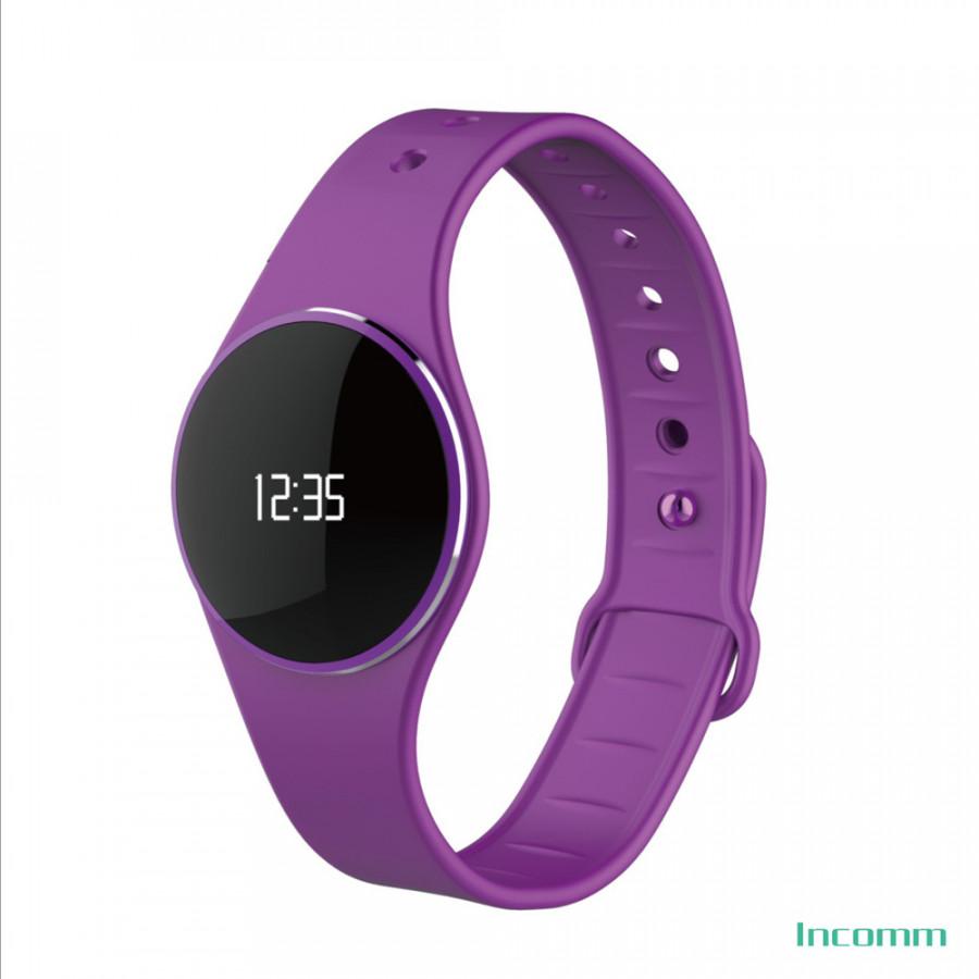 Incomm L16 Smart Wristfit Sport Bracelet Fitness Activity Tracker Pedometer Sleep Monitor Call Reminder Full Touch - Purple - 1904770 , 7098753085842 , 62_14584143 , 1026000 , Incomm-L16-Smart-Wristfit-Sport-Bracelet-Fitness-Activity-Tracker-Pedometer-Sleep-Monitor-Call-Reminder-Full-Touch-Purple-62_14584143 , tiki.vn , Incomm L16 Smart Wristfit Sport Bracelet Fitness Activ