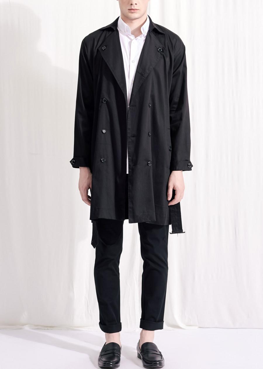 Áo khoác The Cosmo Albert trench coat (black) Đen  TC1023031R1BA - 6640795 , 2498627775124 , 62_10001475 , 749000 , Ao-khoac-The-Cosmo-Albert-trench-coat-black-Den-TC1023031R1BA-62_10001475 , tiki.vn , Áo khoác The Cosmo Albert trench coat (black) Đen  TC1023031R1BA