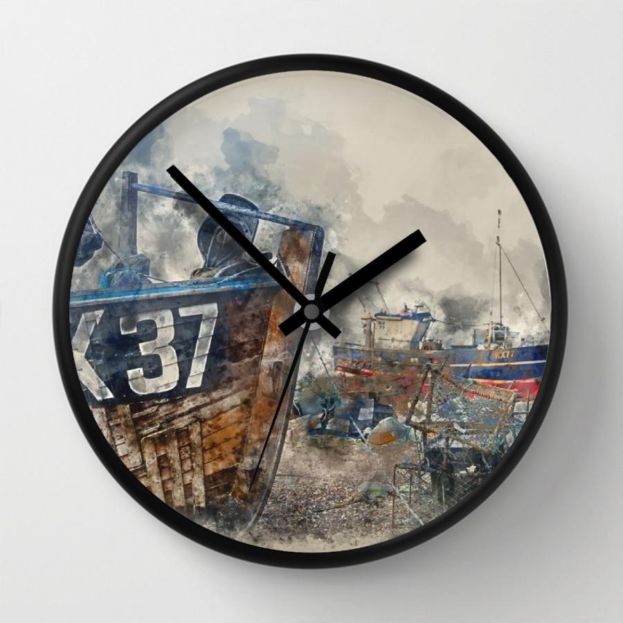 Đồng hồ treo tường hiện đại DH1810.138