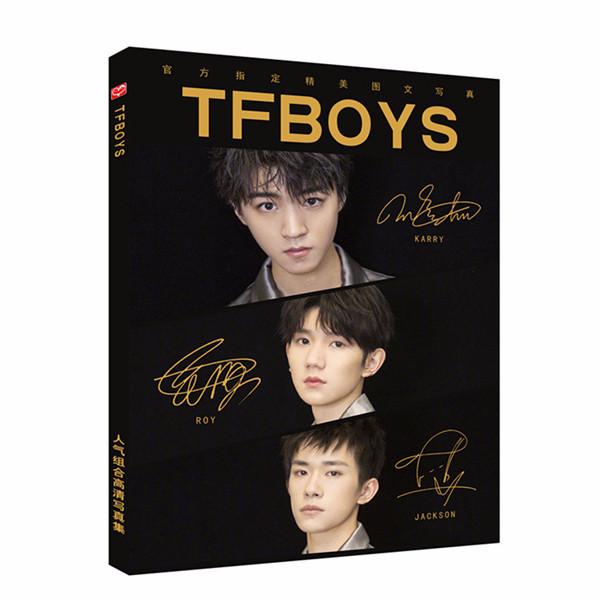Photobook Tfboys A4 nền đen