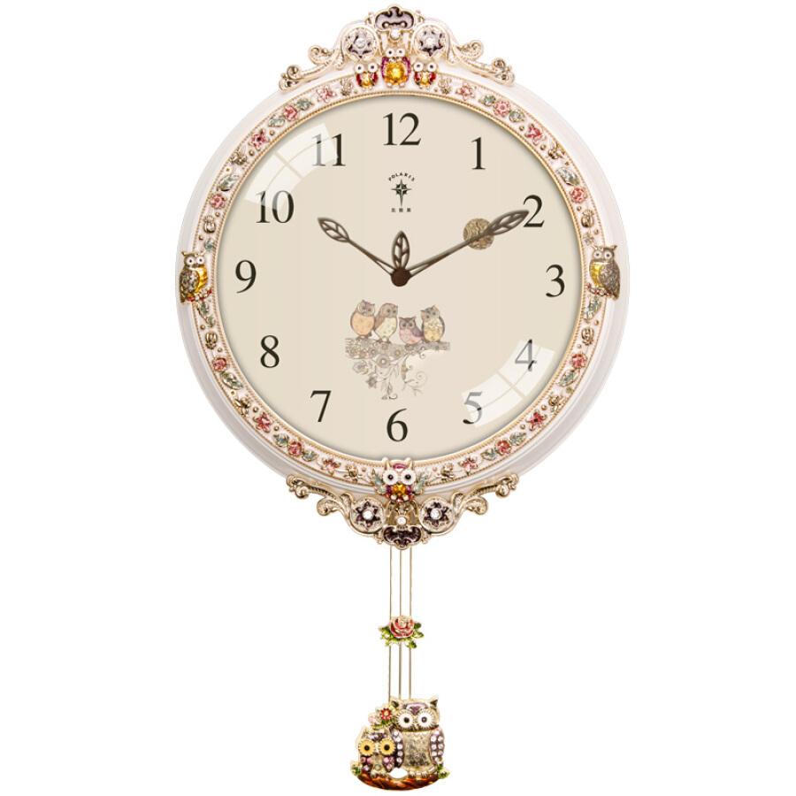 Polaris wall clock living room clocks fashion retro pendulum clock clock European creative garden decoration fashion flat pendulum quartz clock... - 1687775 , 2549593938379 , 62_9313288 , 943000 , Polaris-wall-clock-living-room-clocks-fashion-retro-pendulum-clock-clock-European-creative-garden-decoration-fashion-flat-pendulum-quartz-clock...-62_9313288 , tiki.vn , Polaris wall clock living room c