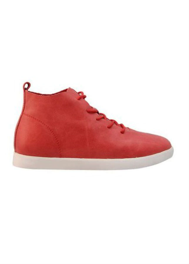 Giày Sneaker Nữ Da Bò Elmi ESW217 - Đỏ (Size 36)