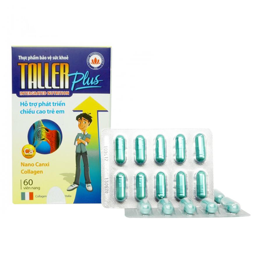 Thực Phẩm Bảo Vệ Sức Khỏe Taller Plus (60 Viên)