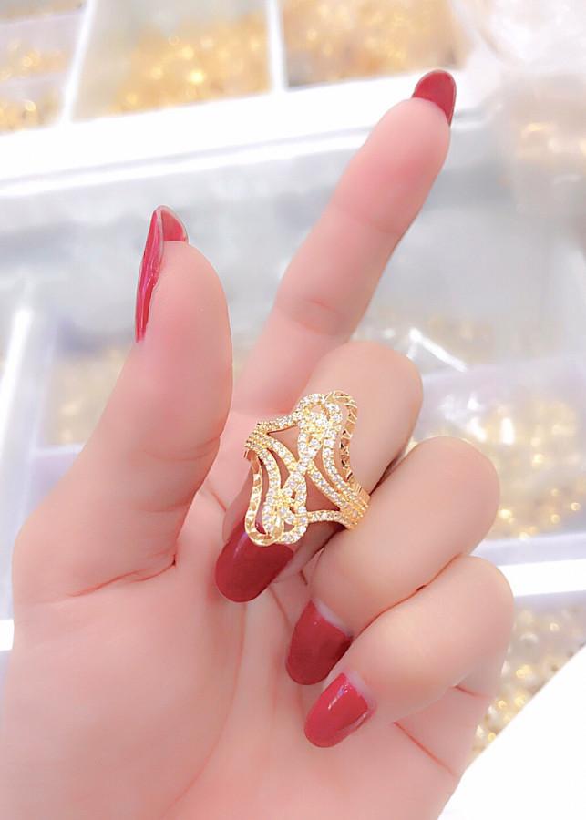 Nhẫn nữ mạ vàng 18k mã EK3106 - 1291502 , 2217406172431 , 62_13864321 , 219000 , Nhan-nu-ma-vang-18k-ma-EK3106-62_13864321 , tiki.vn , Nhẫn nữ mạ vàng 18k mã EK3106