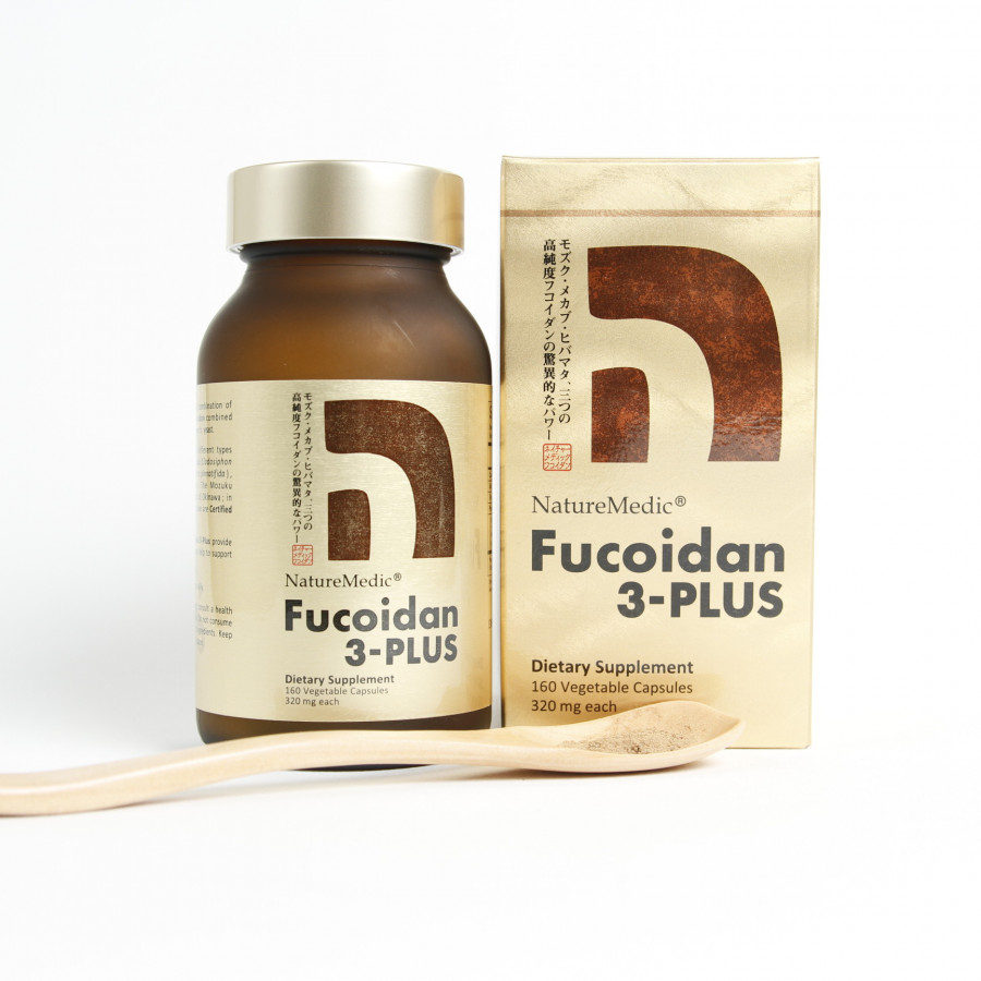 Thực phẩm bảo vệ sức khỏe Naturemedic Fucoidan 3-plus tăng cường hệ miễn dịch