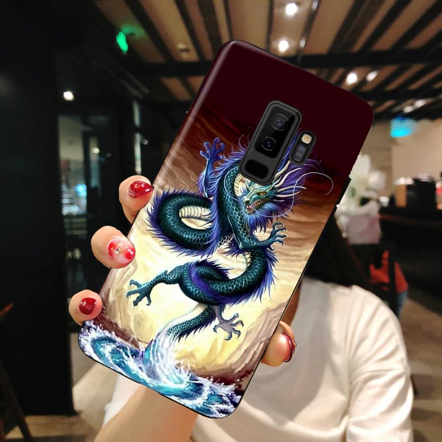 Ốp Lưng Dành Cho Máy  Samsung S9 Plus  Ốp Dẻo Cao Cấp Mẫu Hình Rồng Đen Siêu Đẹp Ốp Cao Cấp, Siêu đẹp,Siêu Hot
