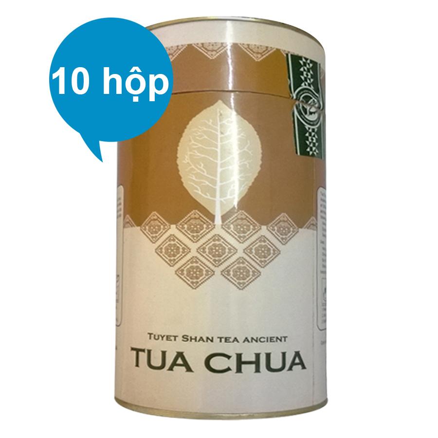 Combo 10 Chè Tuyết Shan Cổ Thụ Tủa Chùa Dien Bien Food (100g / Hộp)