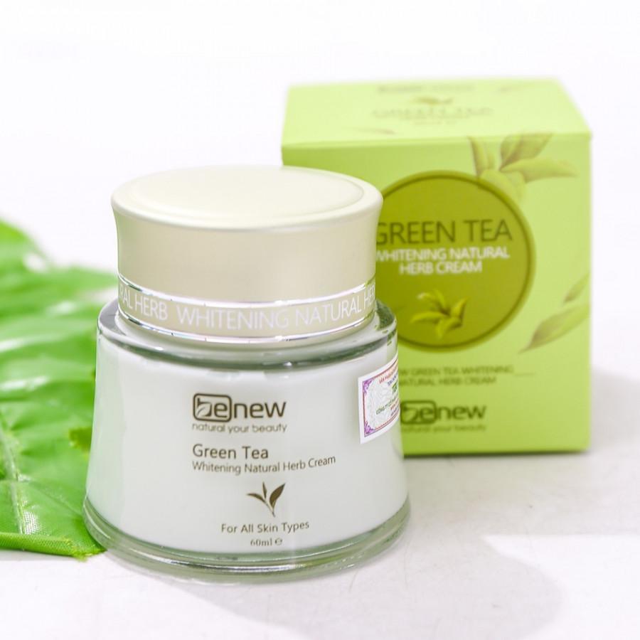 Kem dưỡng ẩm, trắng da cao cấp Hàn Quốc Benew Green Tea tinh chất trà xanh (60ml) – Hàng chính hãng.